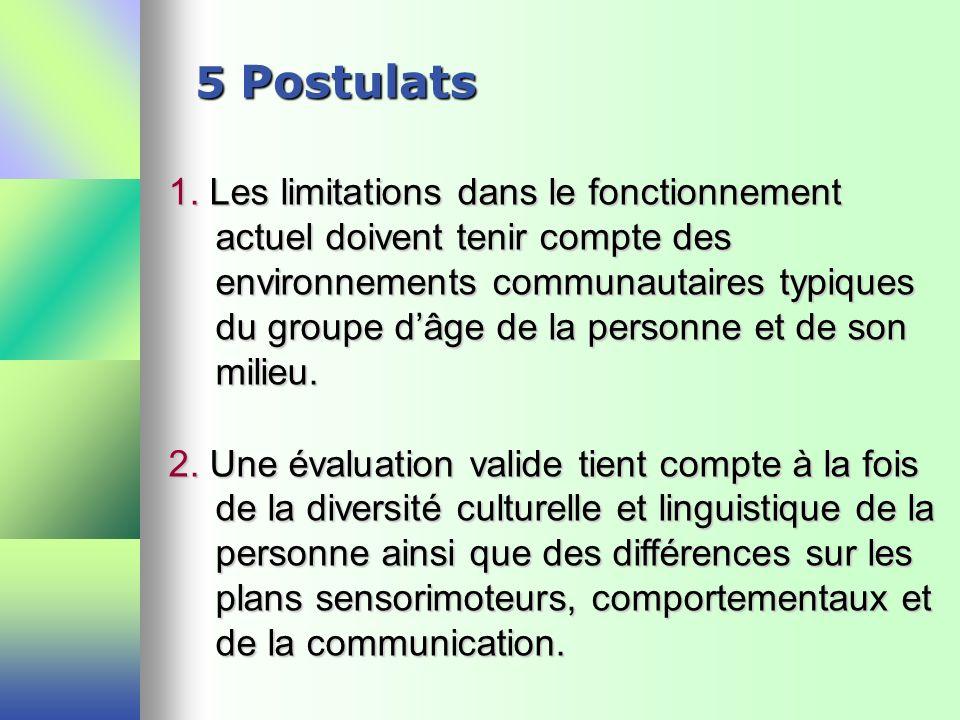 5 Postulats