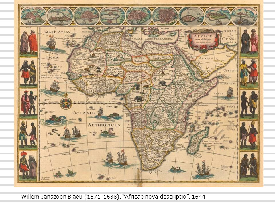 Willem Janszoon Blaeu (1571-1638), Africae nova descriptio , 1644