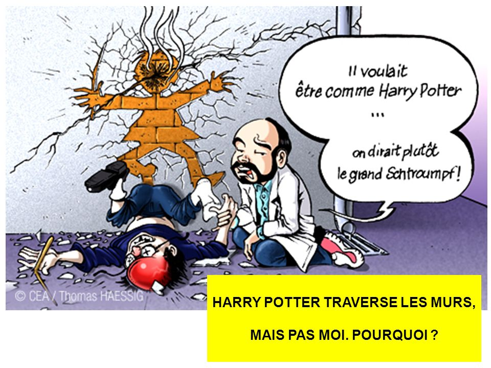 HARRY POTTER TRAVERSE LES MURS,