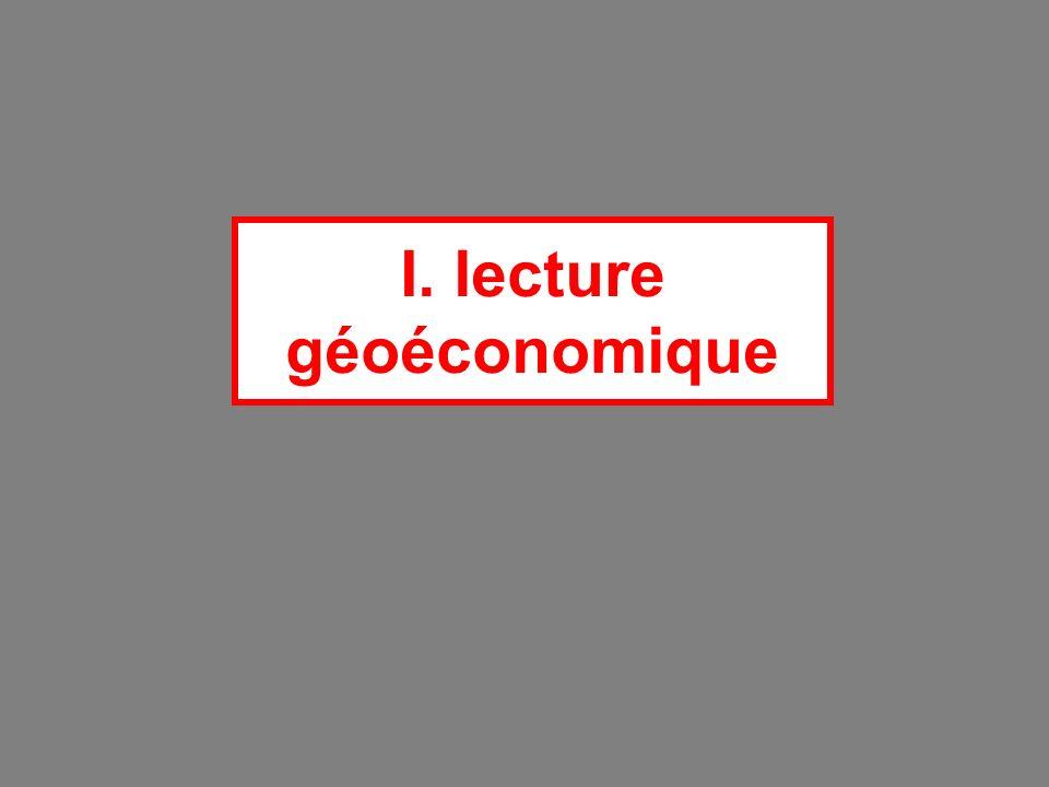 I. lecture géoéconomique