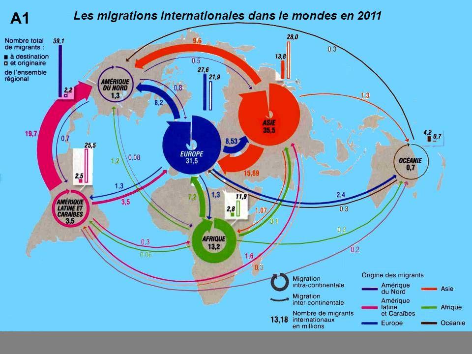 A1 Les migrations internationales dans le mondes en 2011