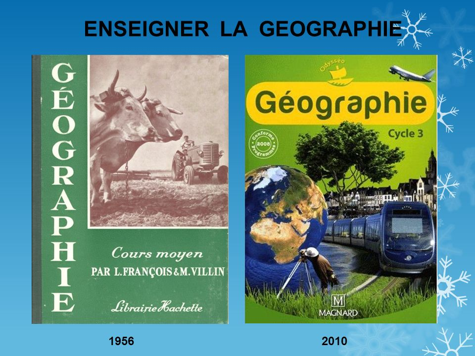 ENSEIGNER LA GEOGRAPHIE