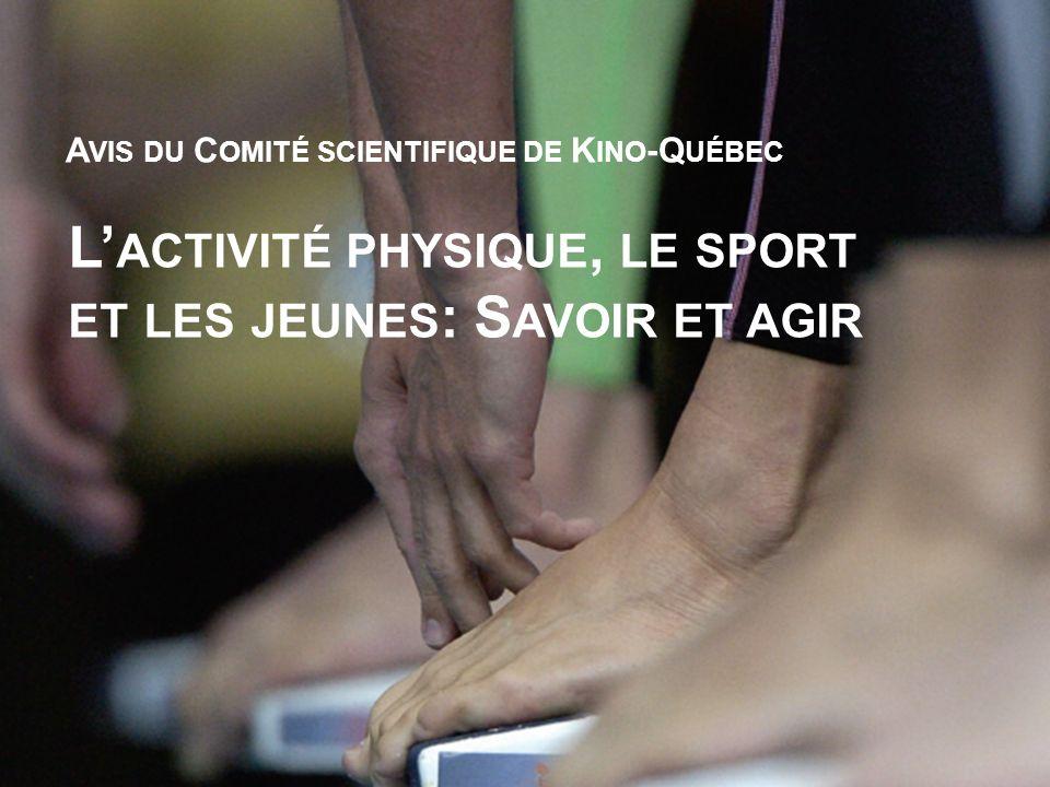 L'activité physique, le sport et les jeunes: Savoir et agir