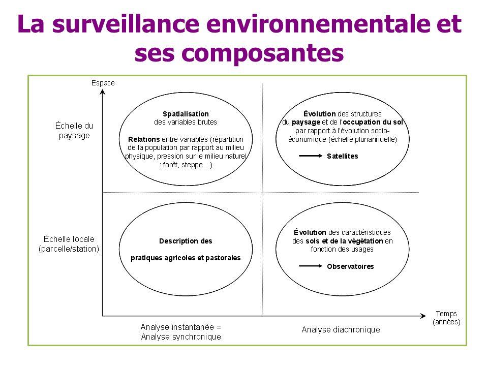 La surveillance environnementale et ses composantes