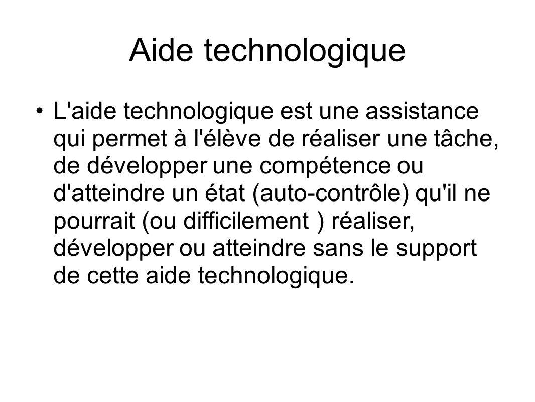 Aide technologique