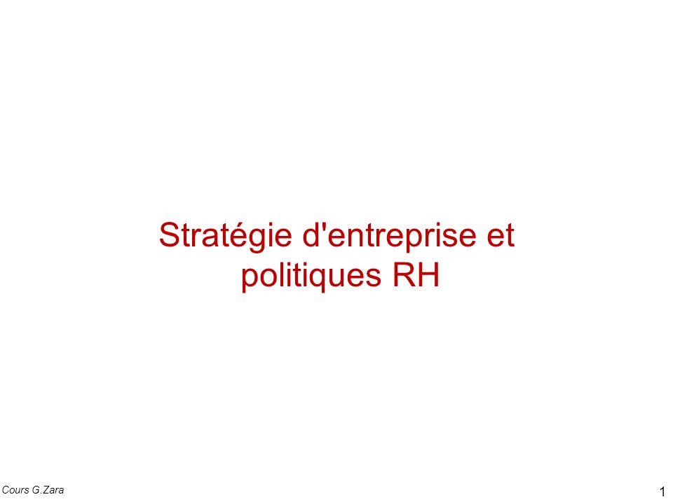 Stratégie d entreprise et