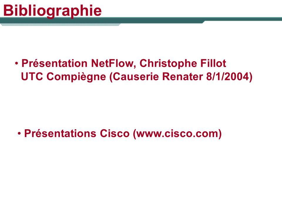 Bibliographie Présentation NetFlow, Christophe Fillot