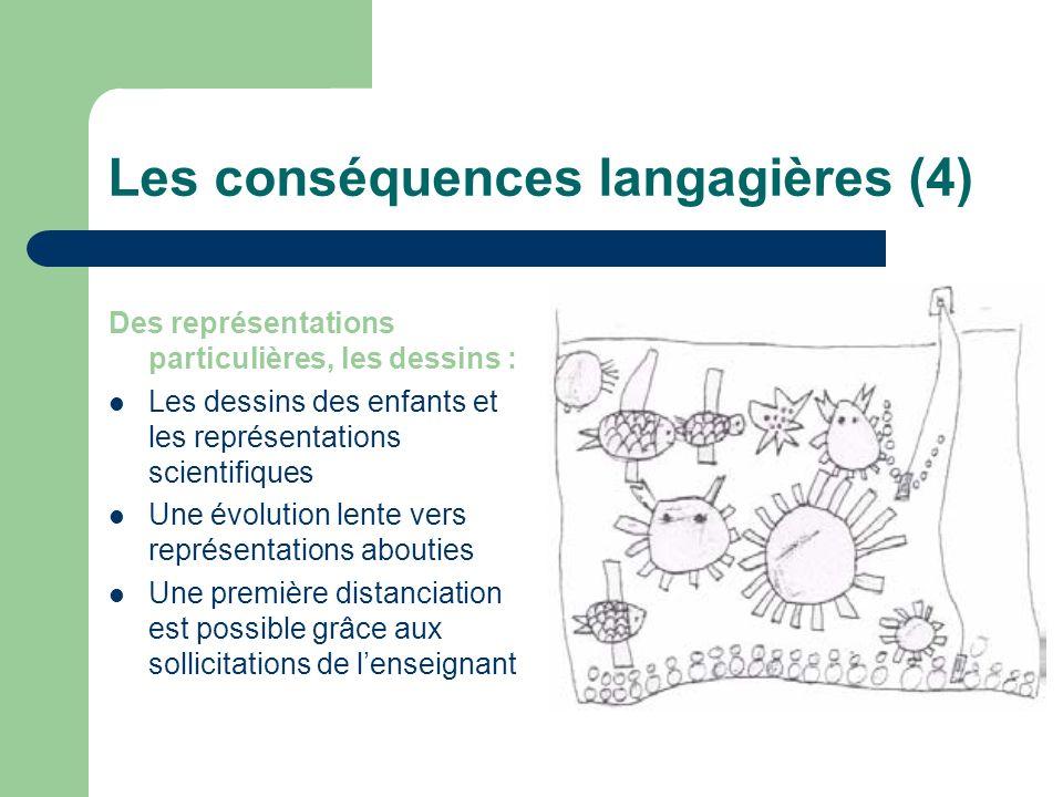 Les conséquences langagières (4)