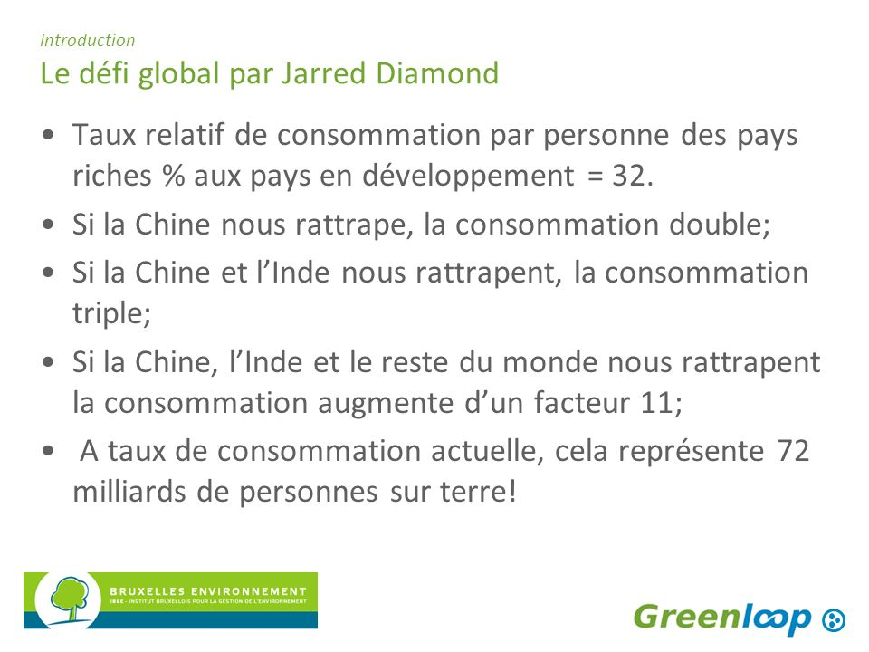 Introduction Le défi global par Jarred Diamond