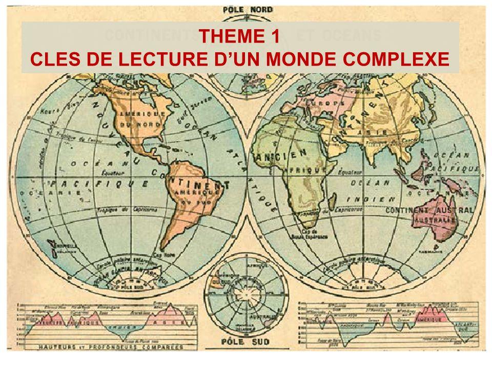 CLES DE LECTURE D'UN MONDE COMPLEXE