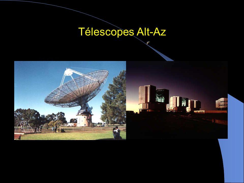 Télescopes Alt-Az