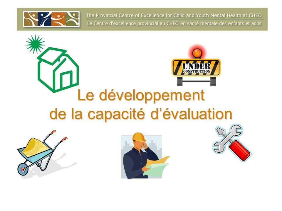 Le développement de la capacité d'évaluation