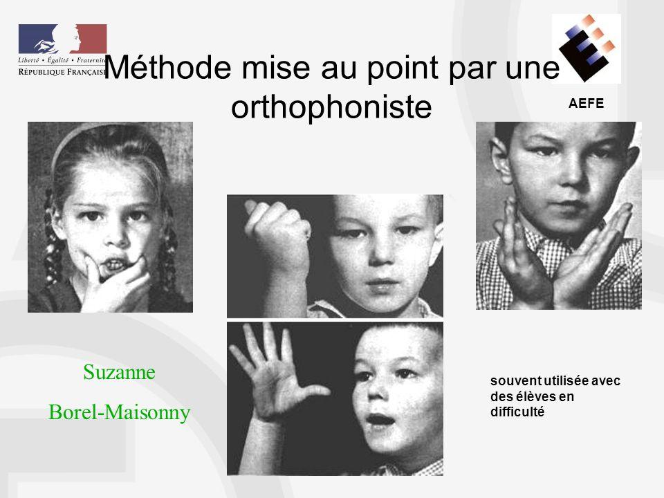 Méthode mise au point par une orthophoniste