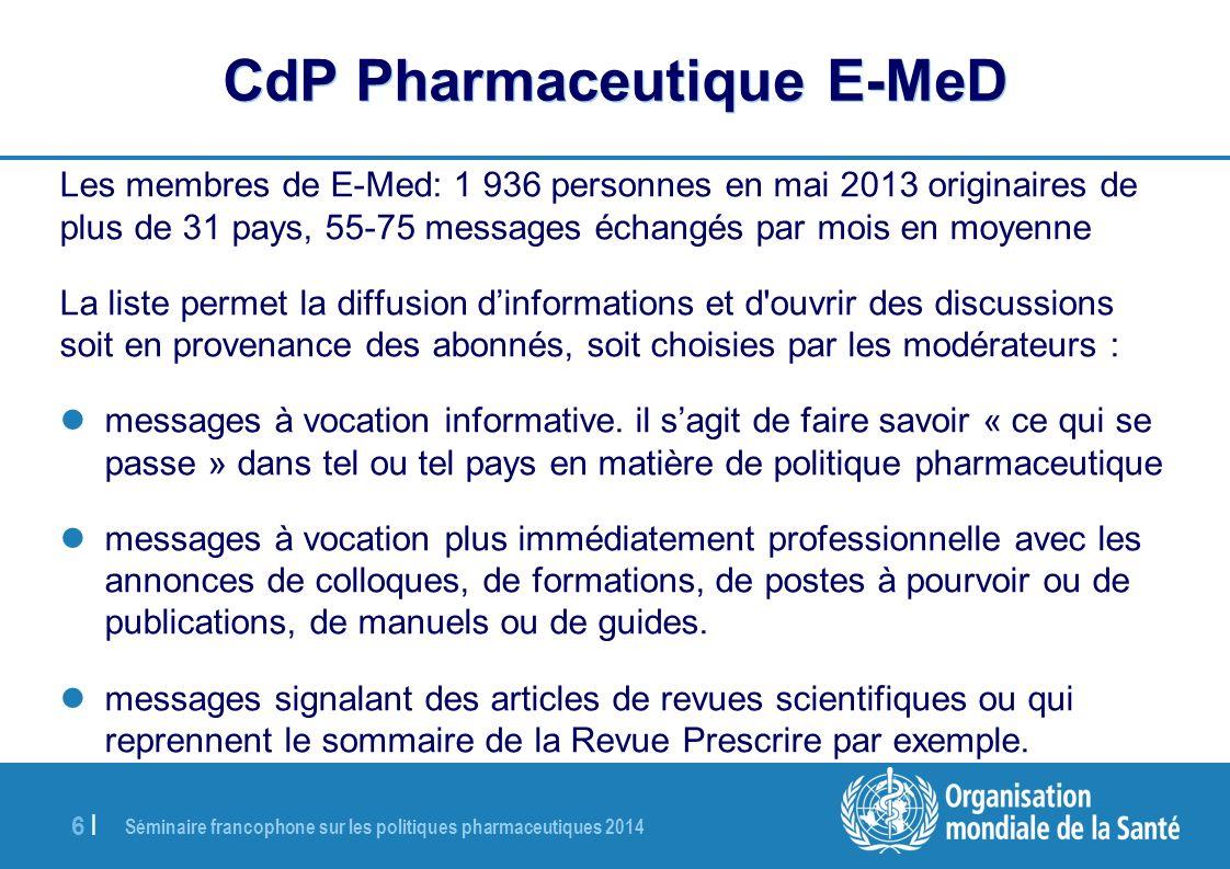 CdP Pharmaceutique E-MeD