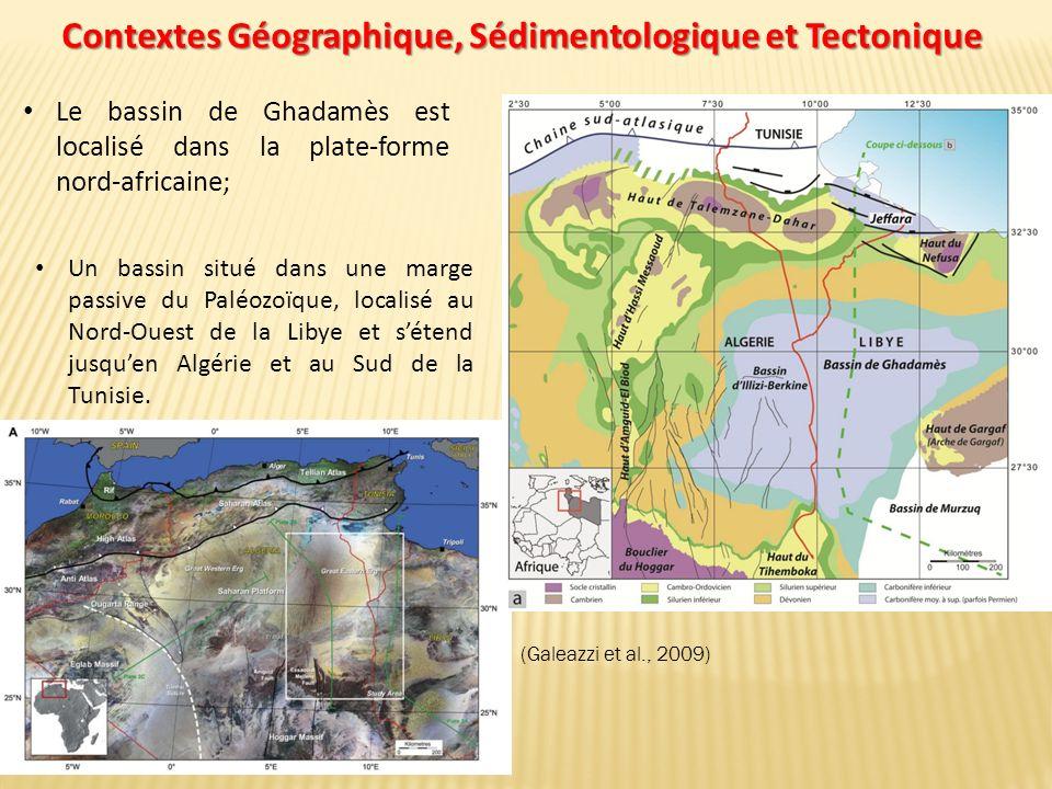 Contextes Géographique, Sédimentologique et Tectonique