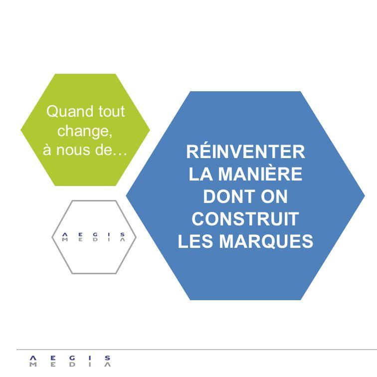 RÉINVENTER LA MANIÈRE DONT ON CONSTRUIT LES MARQUES