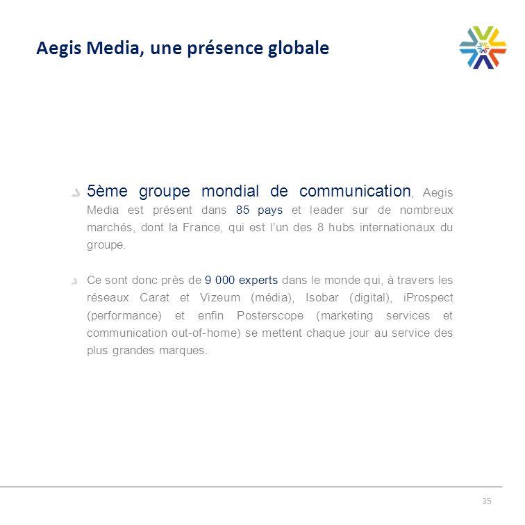 Aegis Media, une présence globale