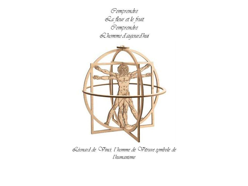 Léonard de Vinci, l''homme de Vitruve symbole de l'humanisme