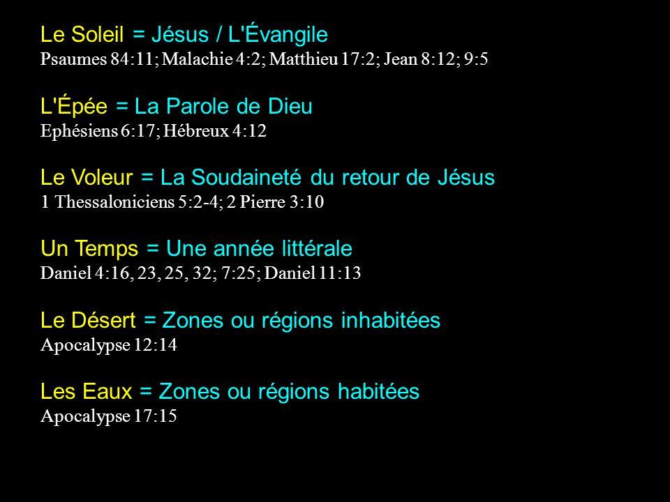 Le Soleil = Jésus / L Évangile