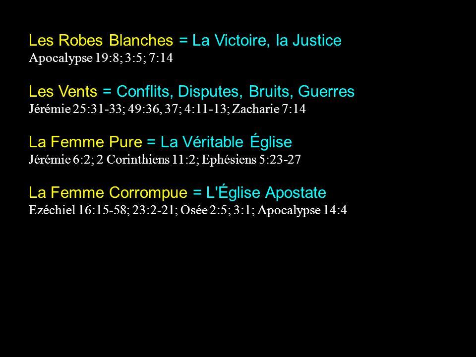 Les Robes Blanches = La Victoire, la Justice