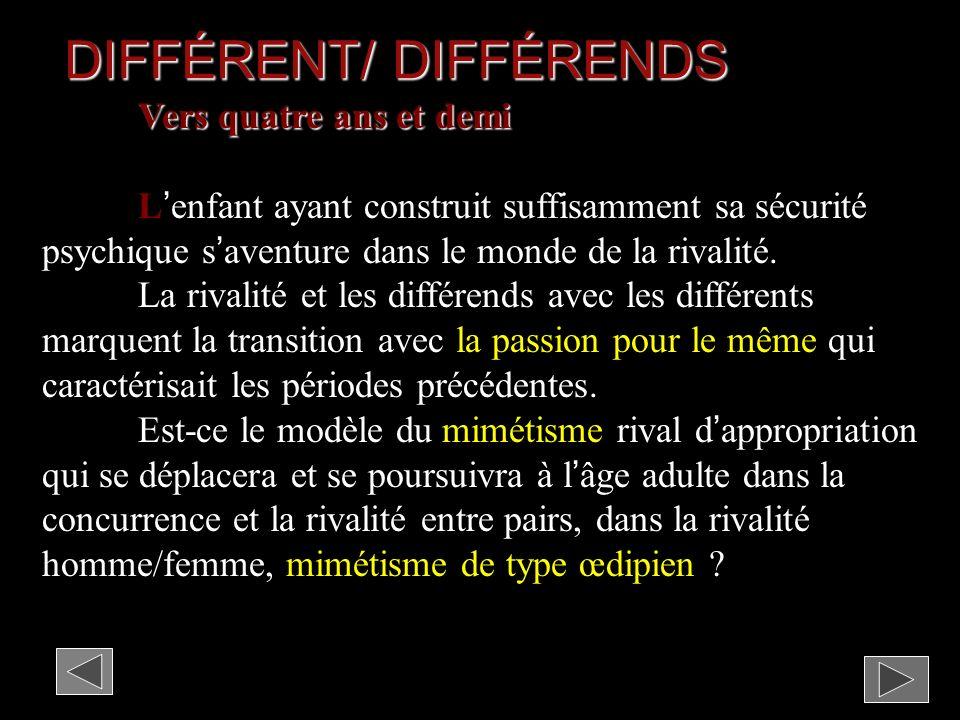 DIFFÉRENT/ DIFFÉRENDS