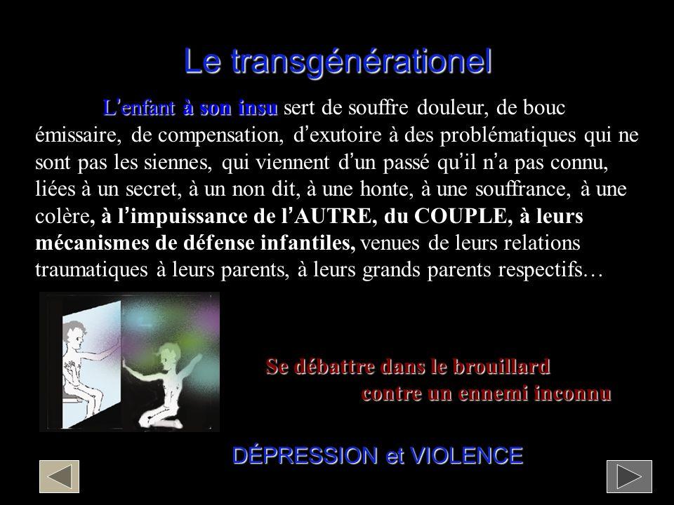 Le transgénérationel