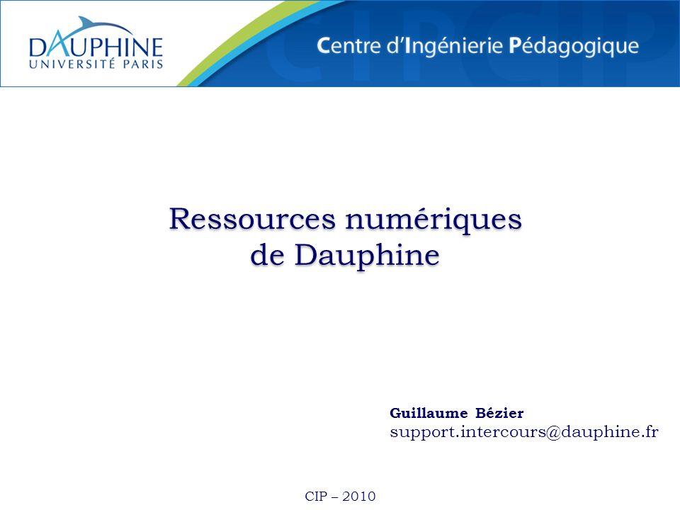 Ressources numériques