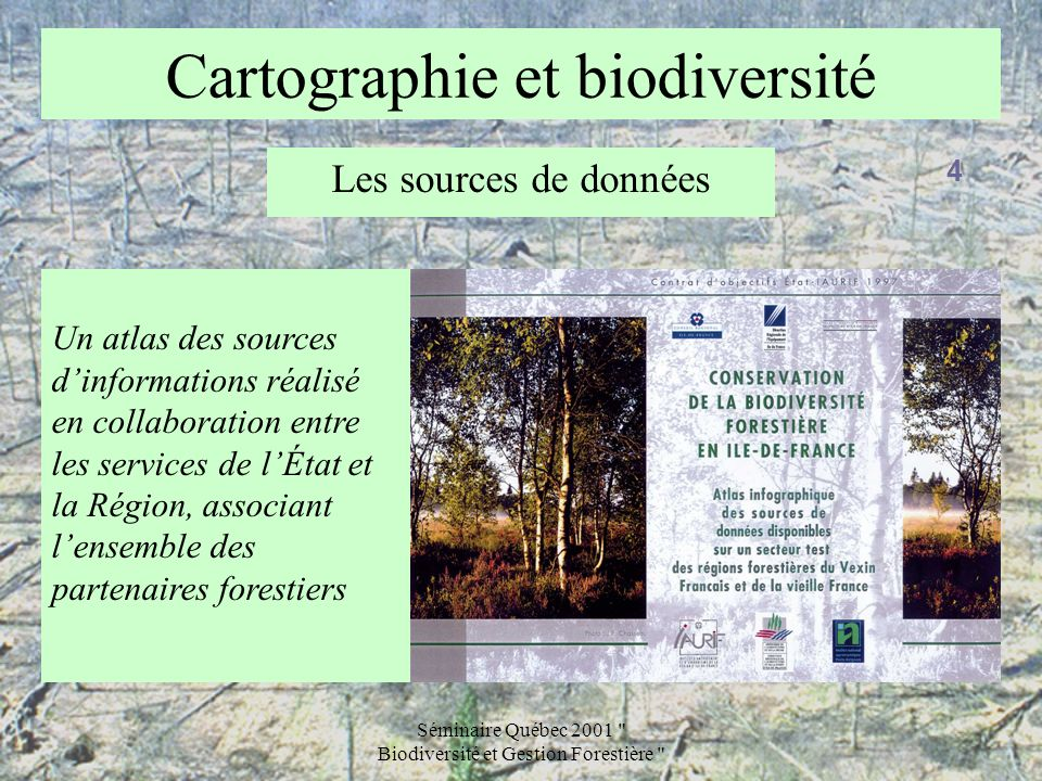 Cartographie et biodiversité