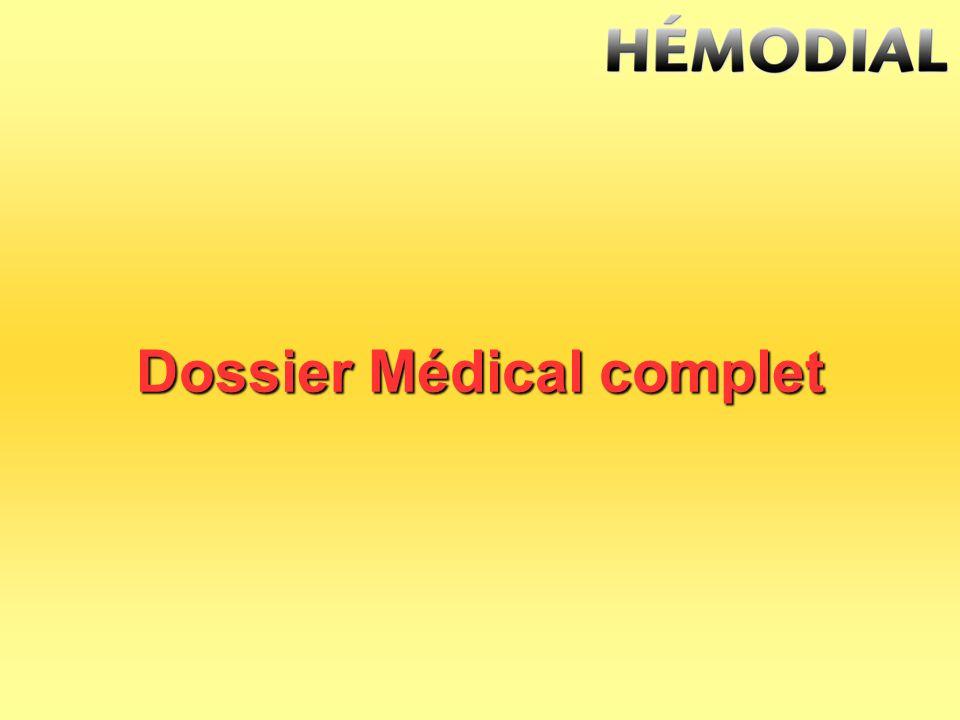 Dossier Médical complet
