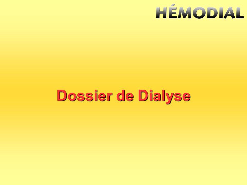 Dossier de Dialyse