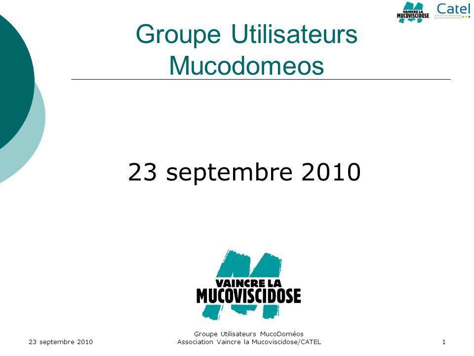 Groupe Utilisateurs Mucodomeos