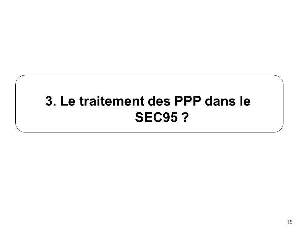 3. Le traitement des PPP dans le SEC95