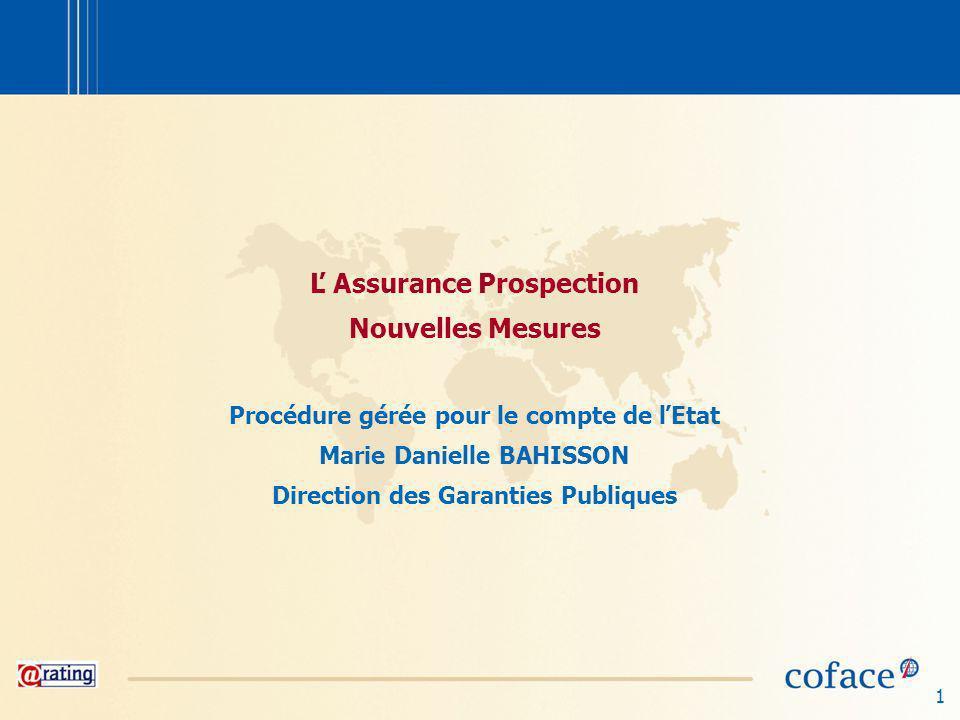 Ľ Assurance Prospection Nouvelles Mesures