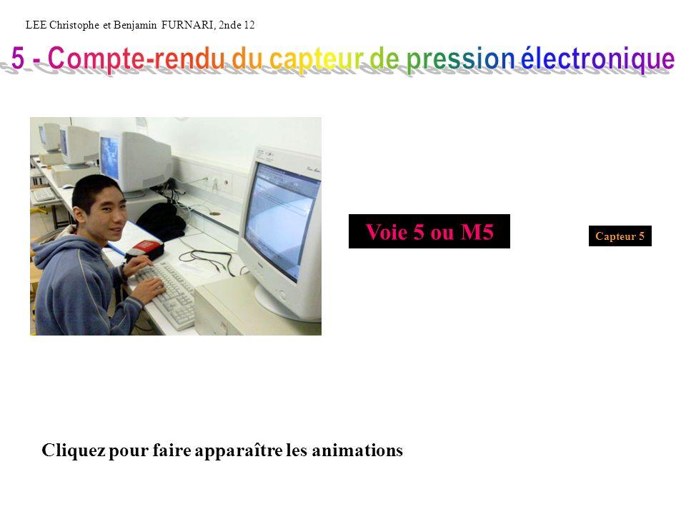 5 - Compte-rendu du capteur de pression électronique
