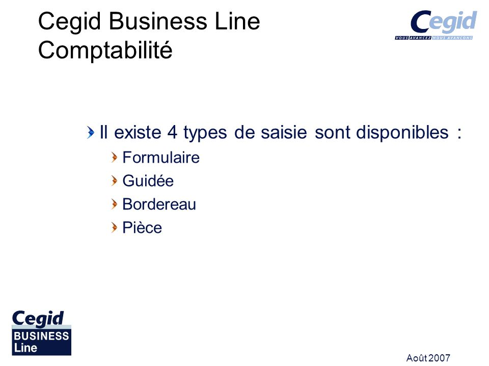 Cegid Business Line Comptabilité