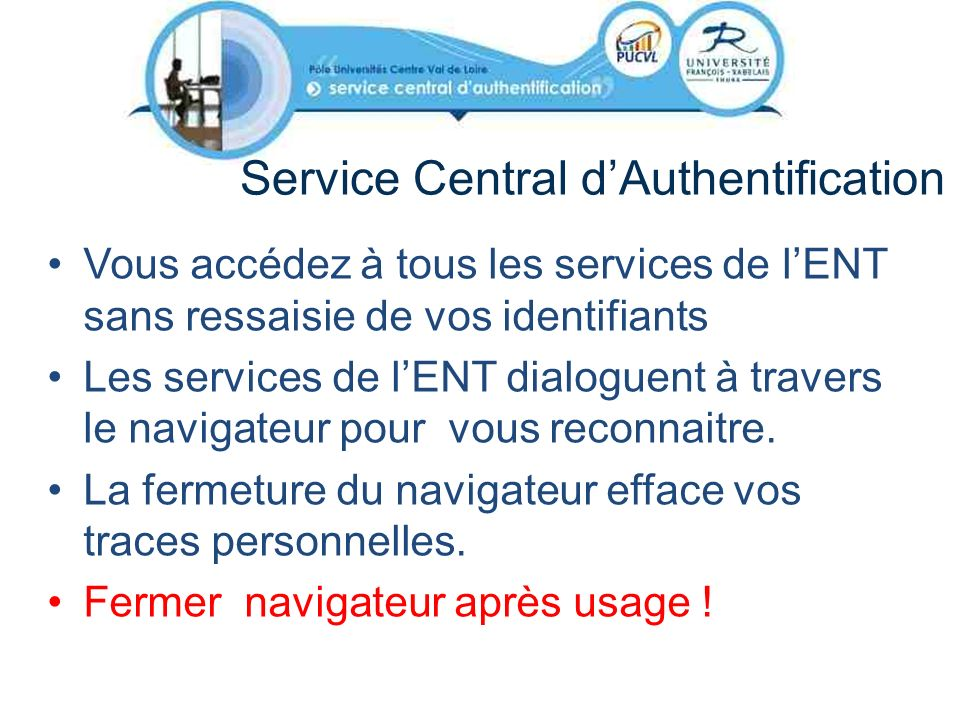 Service Central d'Authentification