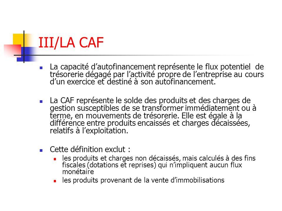 III/LA CAF