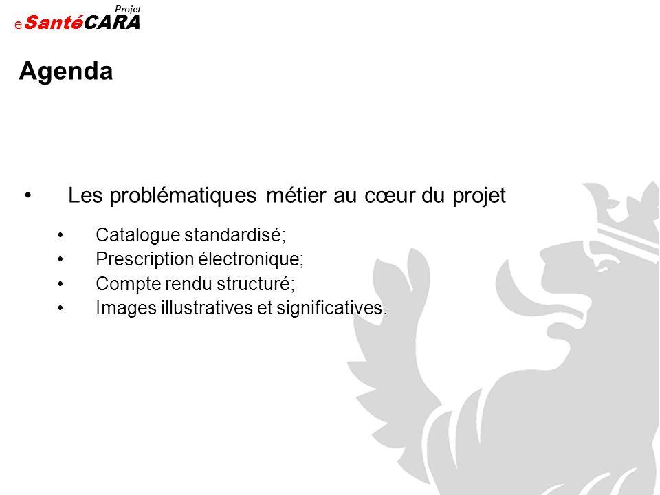 Agenda Les problématiques métier au cœur du projet