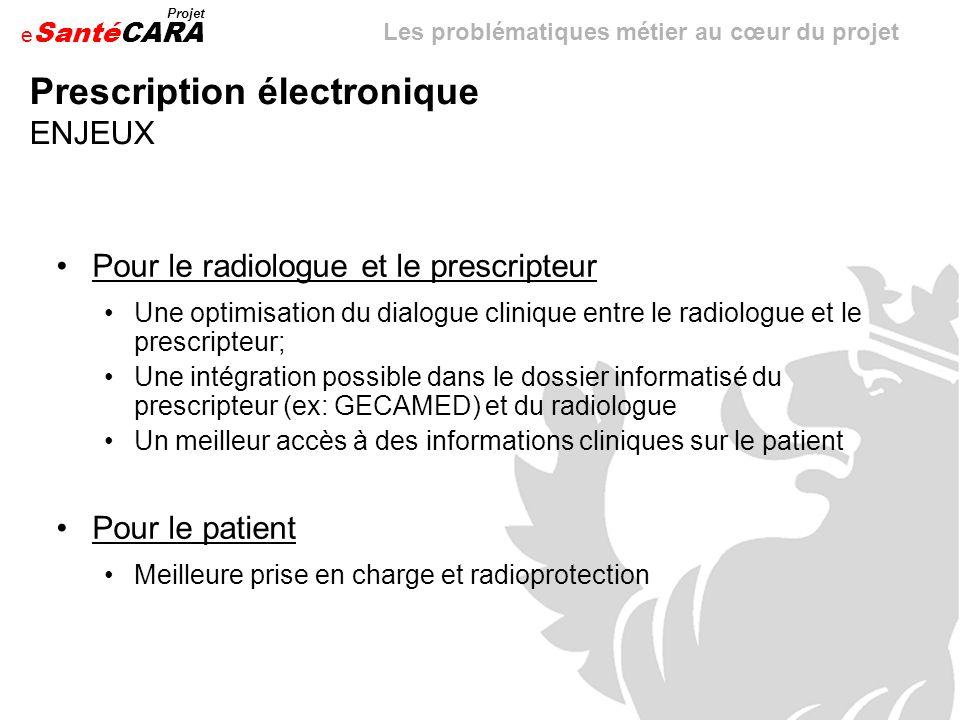 Prescription électronique ENJEUX