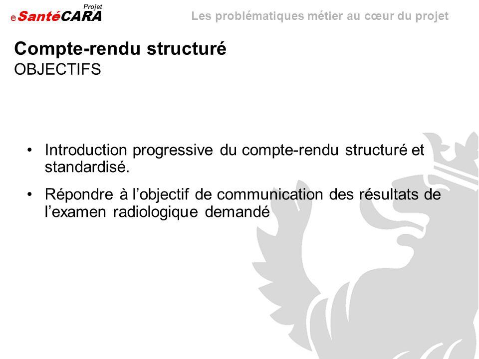 Compte-rendu structuré OBJECTIFS