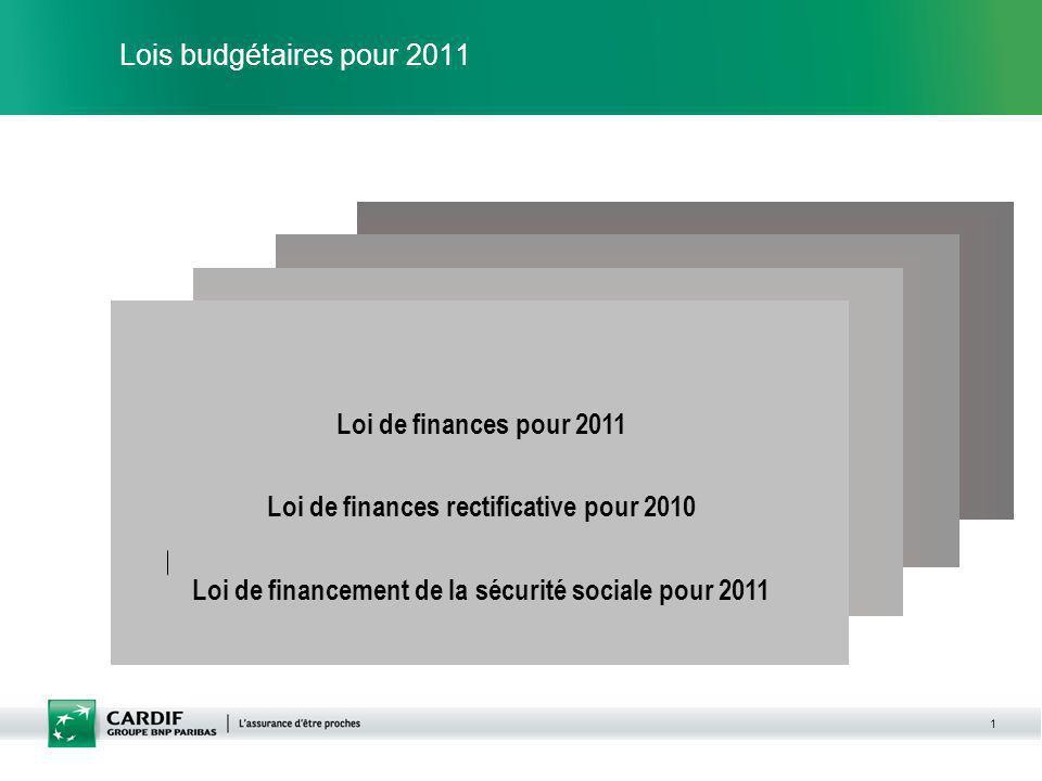 Loi de finances rectificative pour 2010
