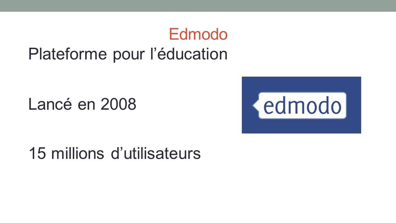 Plateforme pour l'éducation