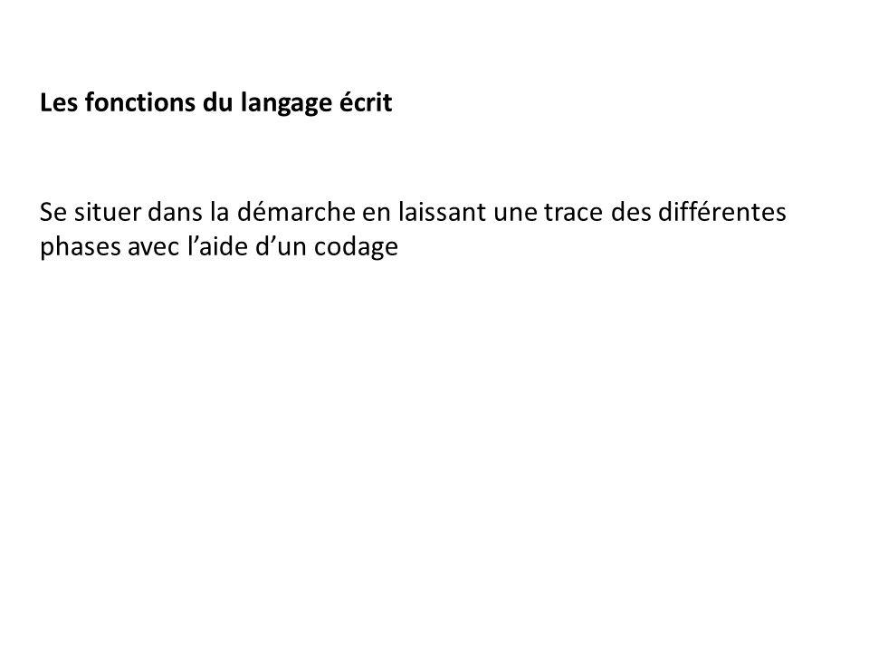Les fonctions du langage écrit