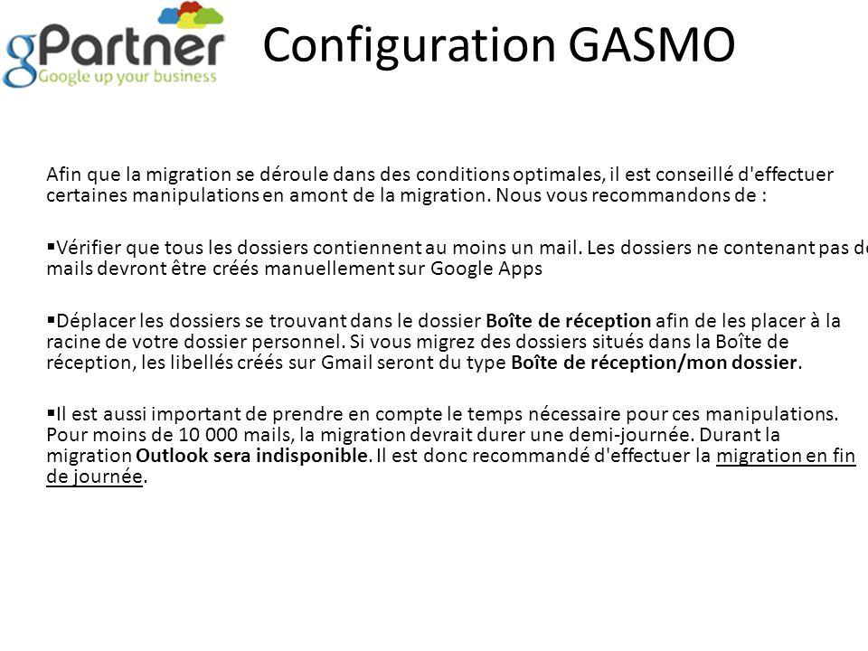 Configuration GASMO