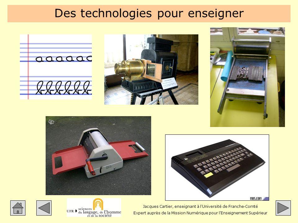 Des technologies pour enseigner