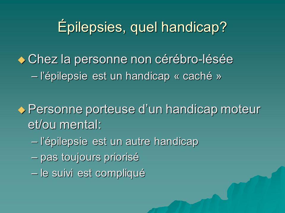 Épilepsies, quel handicap