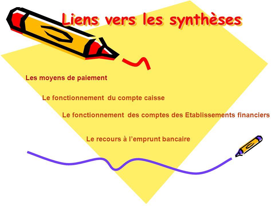 Liens vers les synthèses
