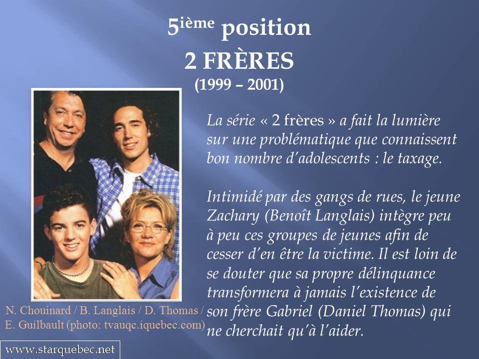 5ième position 2 FRÈRES (1999 – 2001)