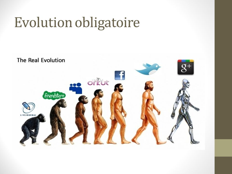 Evolution obligatoire