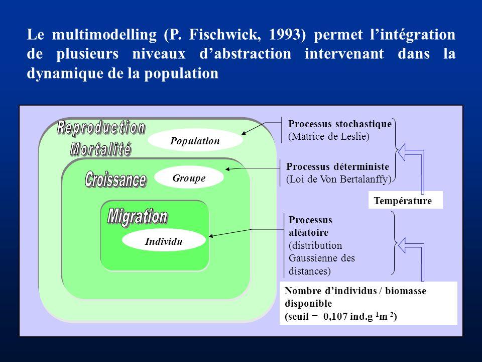 Le multimodelling (P. Fischwick, 1993) permet l'intégration de plusieurs niveaux d'abstraction intervenant dans la dynamique de la population